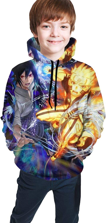 Kids Boys Anime Pullover Hoodie Casual - OFFicial mail order Sasuke OFFer Sweatshir Naruto