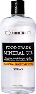 Food Grade Mineral Oil for Cutting Boards, Countertops and Butcher Blocks – Food..