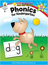 Phonics for Kindergarten, Grade K (Home Workbook)