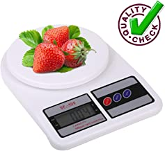 Flyngo Digital Weighing Scale with Tare Function and LCD Display Food, Vegetable Measurement Weight Machine for Kitchen Kirana Shop - Up to 10 Kg