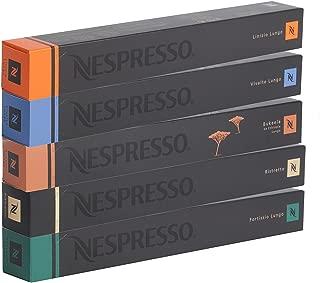 50 Nespresso OriginalLine Capsules: Lungos and Ristretto Mix -