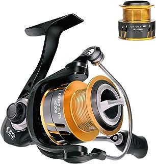 WataChamp Origo/Origo Elite Fishing Reels, Spinning Reel with Free Spare Spool, 5.2:1 Gear Ratio Smooth 5+1BB / 7+1BB for ...
