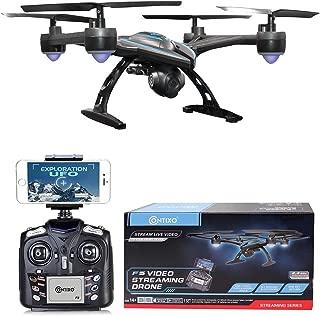 Contixo F5 RC Quadcopter Drone | 720p HD WiFi Camera Live Video Photos Auto Hover Altitude Hold Auto Return FPV Stunt Drone for Beginners Adults Kids