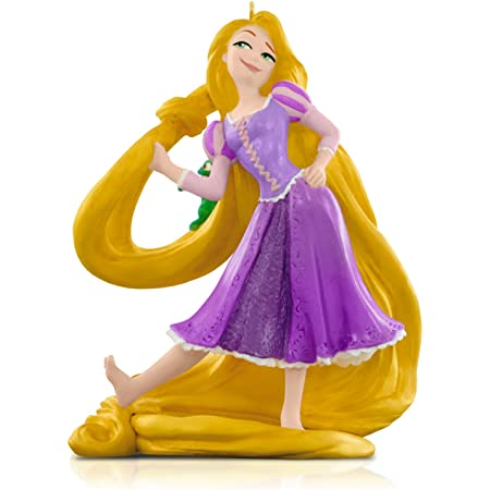 Disney Christmas Ornament 2018 RAPUNZEL Princess Mini Figure Anime Toy
