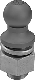 CURT 40088 Raw Steel Trailer Hitch Ball, 30,000 lbs., 2-5/16-Inch Diameter Tow Ball with 2-Inch x 3-1/2-Inch Shank