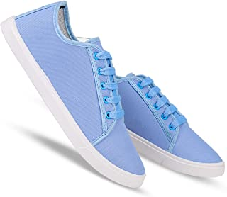 Earton Party Casual Shoes, Outdoor Boots,Best Rates, Canvas Shoes,Sneakers Shoes, Loafers Shoes, Shoes, Trekking Shoes, Sports Shoes,Comfortable for Women's/Girls's (Sky-Blue-1252)