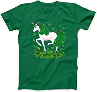 Mint Mama Irish Unicorn Ireland Shamrock Gift St Patrick's Day Girls T-Shirt