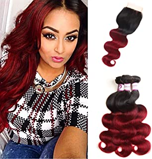 Best red closure sew in Reviews