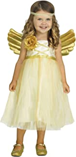 Fun World Kid's Sml/my Angel Baby Tdlr Cstm Baby Costume, Multicolor, Small