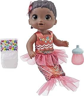 Baby Alive Shimmer 'n Splash Mermaid (Black Hair)