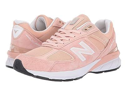 New Balance 990v5 (Pink/White) Women