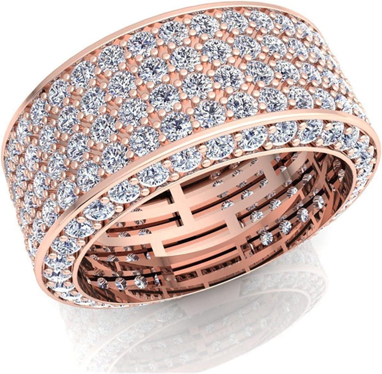 JIAH Ring Fashion Square Crystal Genuine Free Shipping Engagement Zircon online shop Gold Sil
