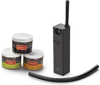 Outset 76655 Bundle Infusion Smoker & Wood Chip Set, Black