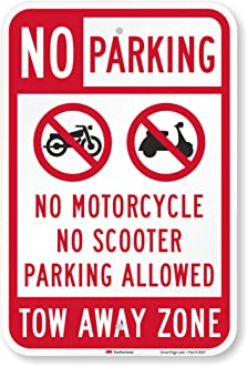 No Parking Except For Mom All Others Will Be Towed Notice Aluminum Metal Sign