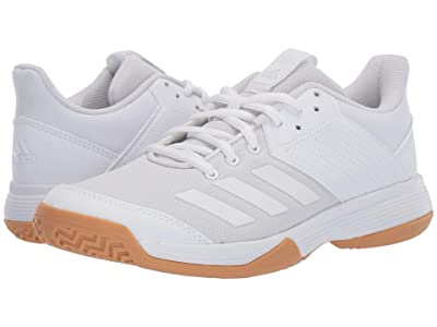 adidas Ligra 6 (Footwear White/Footwear White/Gum M1) Women