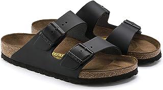Birkenstock Unisex Adults' Arizona Sandals, Brown, 44 EU