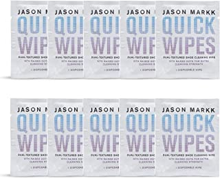 Jason Markk Unisex 10 Essential Shoe Cleaning Wipes White (1 Pk. of 10)