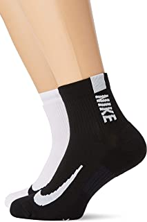 Nike Unisex Multiplier Ankle One Quarter Sock SX7556-906
