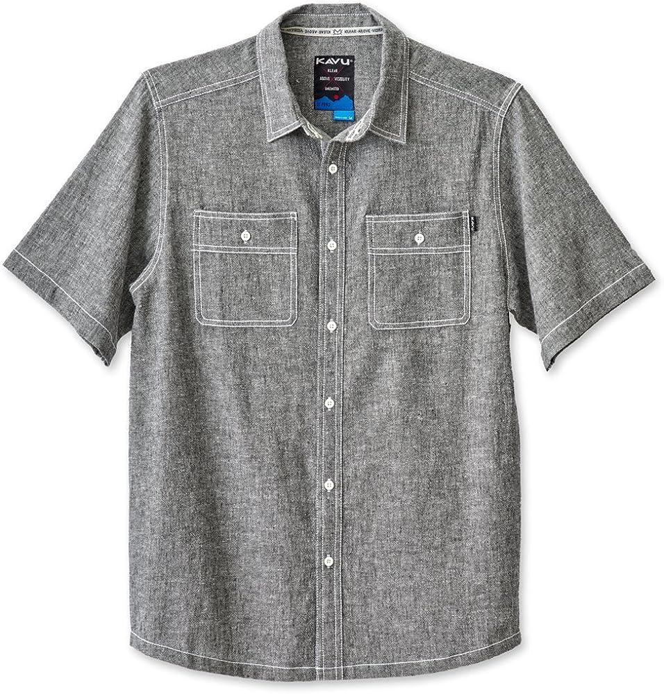 KAVU Men's Super beauty product restock quality top Jacksonville Down Shirts Button Direct stock discount