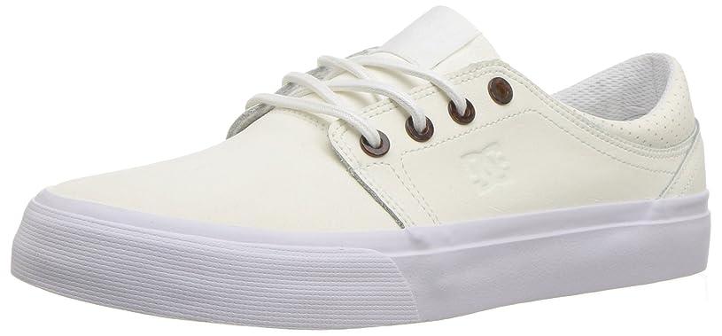 健康的代表して食欲DC(ディーシー) レディース 女性用 シューズ 靴 スニーカー 運動靴 Trase SE - White [並行輸入品]