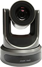 PTZOptics 20X-USB 2.12MP 1080p Full HD Video Conferencing PTZ Camera, 20x Optical Zoom, 30fps, RJ-45 H.264, 60.7 Degree FOV, HDMI, USB 3.0, IP Streaming, CVBS Video Output Interfaces, Gray