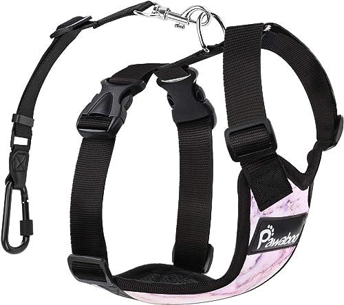 Pawaboo-verstellbar-Auto-Hunde-Sicherheitsgurt