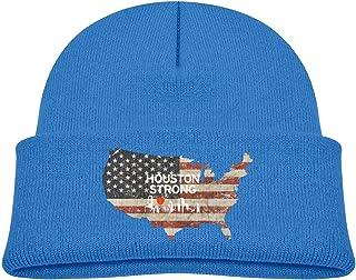 ADGoods Kids Children Houston Strong Vector Beanie Hat Knitted Beanie Knit Beanie For Boys Girls Gorra de béisbol para niños