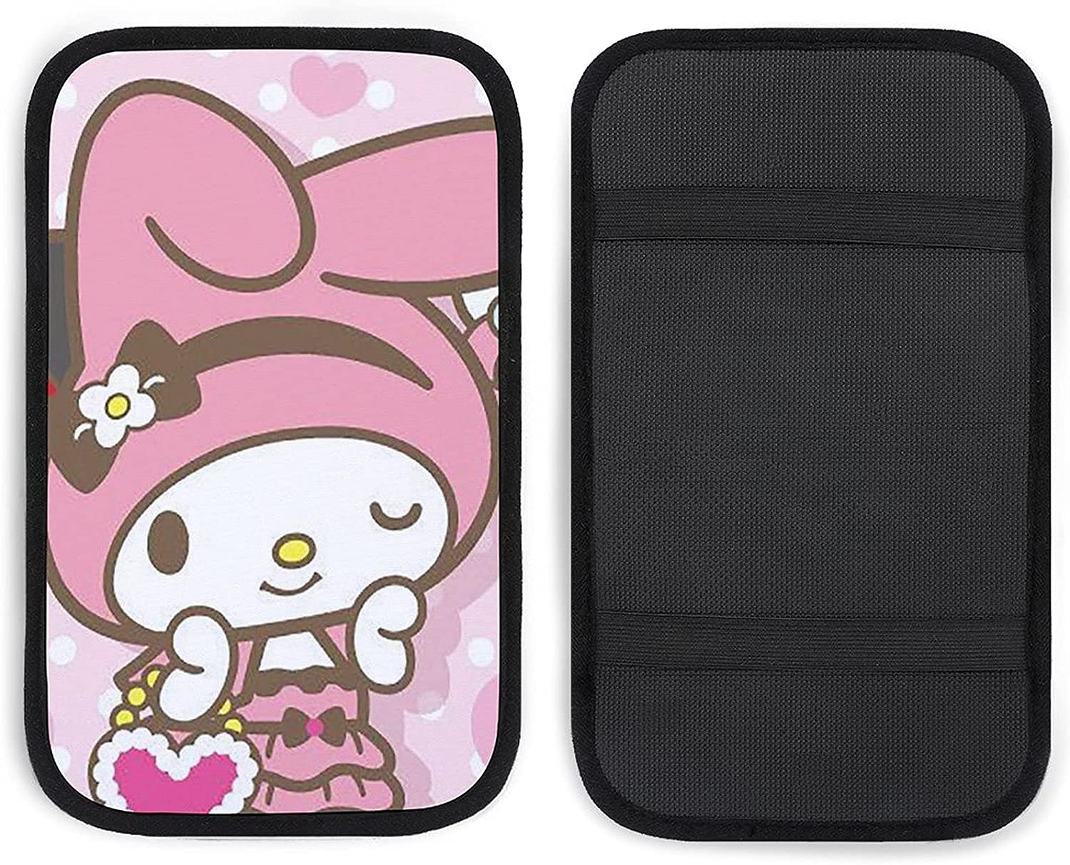 GUIJI Car Deluxe Armrest My Melody Brand new Cartoon Cover Co Auto Center Console