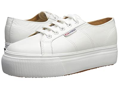 Superga 2790 Nappaleaw Sneaker (White) Women