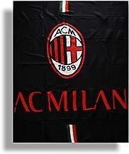 CALDO PLAID ARREDO MICRO PILE PELUCHES Juventus Inter Milan Roma COPERTA ORIGINALE cm 120 x 150 (Milan)