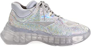 Pinko Luxury Fashion Womens 1P21R5Y69QZZF Silver Sneakers |