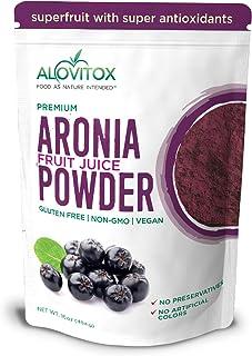 Alovitox Aronia Juice Powder 16 oz | Antioxidant Dense Superfood Naturally Containing Dietary Fiber, Vitami...