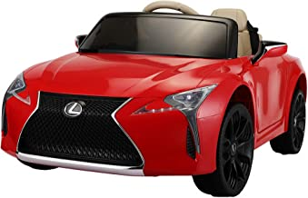 TOBBI Licensed Lexus LC500 Electric Vehicle with Remote Control, 12V Kids Cars to Drive,Ride on Car with Music Horn MP3 LE...