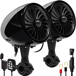 Aileap SPK350X 4 inch Full Range waterdichte motorfiets Bluetooth stereo luidspreker Moto Audio versterker radio systeem v...