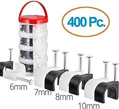 8 mm 5 cajas x 1000 unidades Tacwise 0980 Grapas de cables serie CT-45 x 8 mm Set de 5 Piezas color blanco
