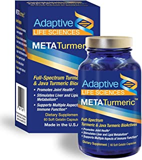 METATurmeric™ Best Joint Supplement - Best Turmeric Curcumin Supplement w/ Black Pepper for Joint Pain & Inflammation Relief - Natural Relief For Aches and Pains - Keto Friendly