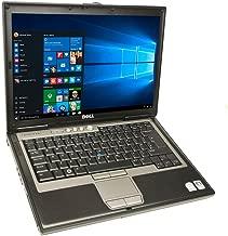 Dell Latitude D620 Laptop Notebook - Core Duo 1.60GHz - 2GB DDR2 - 80GB - DVD+CDRW - Windows 10 Home 32bit - (Renewed)