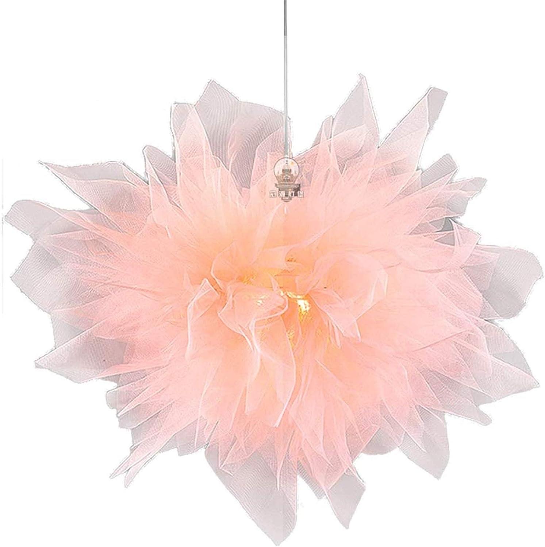 LED Modern Ceiling Light Fixture Net Yarn Pendant 2021 spring and summer new Creative Ligh Many popular brands