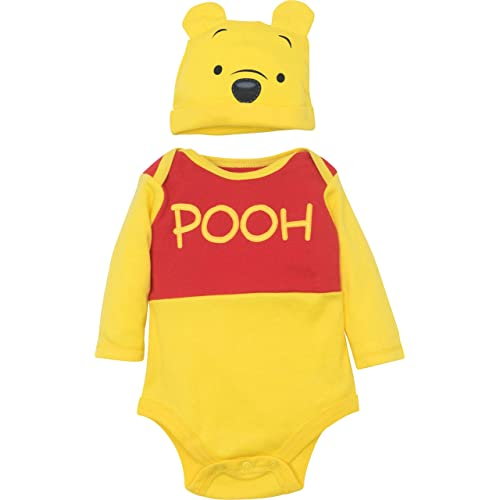 26c4bb92b Disney Winnie The Pooh Tigger Baby Boys' Costume Bodysuit Hat Set