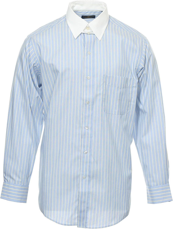 Club Room The Estate Dress Shirt Men's Blue Button Down Shirt