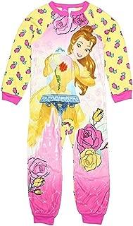 Princess Belle Little & Big Girls One Piece Fleece Sleeper Pajama
