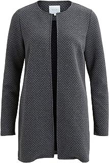 Vila Vinaja New Long Jacket-Noos Cardigan Donna