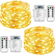 NEW FOR USE AT Outdoor/&Bedroom 10M 100Led Copper Wire Plug In Ball String Light