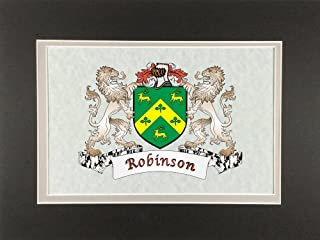 Robinson Irish Coat of Arms Print - Frameable 9