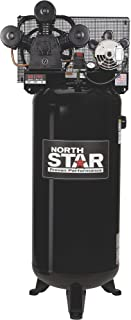 NorthStar High-Flow Electric Air Compressor - 4.7 HP, 60-Gallon Vertical Tank