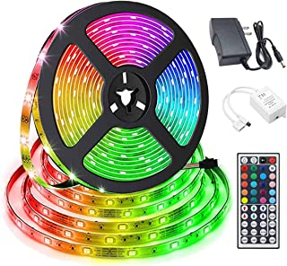 LED Light Strip Kit 16.4ft 150 LEDs Non-Waterproof LED Tape