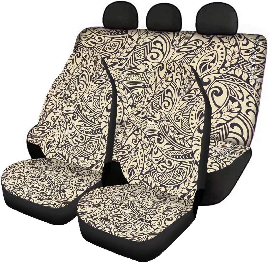 Deeprinter Tribalmaori Pattern Front Tulsa Mall Car Covers Seat Rear Bench Ranking TOP20