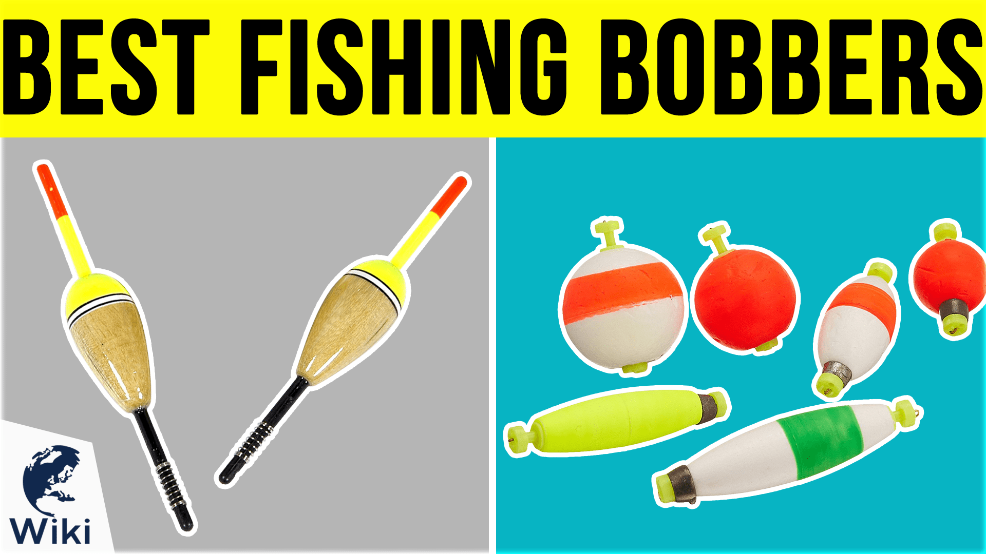 18 Popping Bobbers//Floats Weighted Slotted Green//White//Red.Sizes 5/'/',4/'/' 3/'/',2