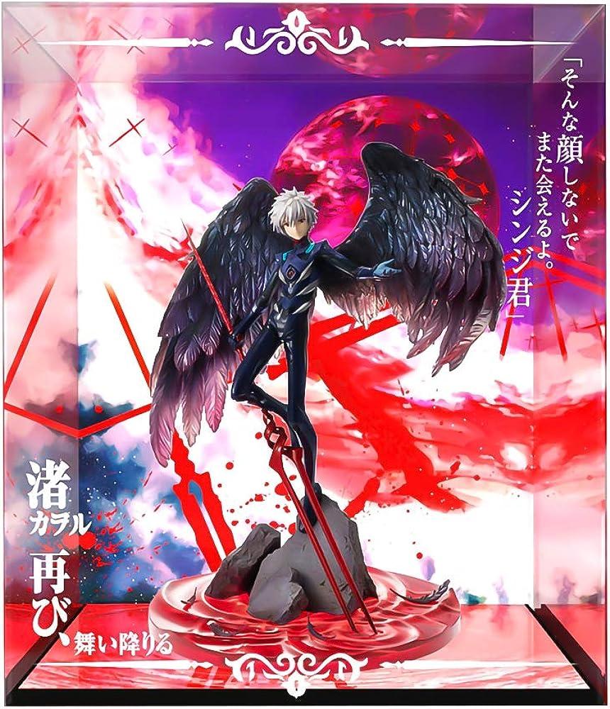 Wuhuayu evangelion movie , statua di nagisa kaworu , espositore personalizzato professionale 37 cm ZINRAM AFC 3