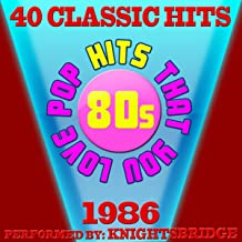 80s Pop Songs That You Love-1986-40 Classic Hits